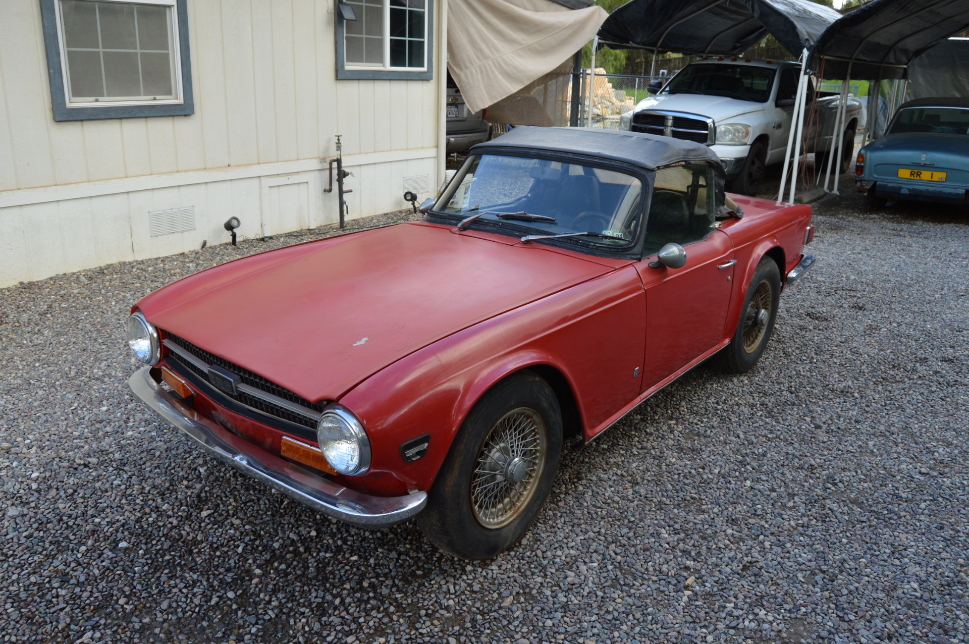 Used 1971 Triumph TR6 For Sale (Special Pricing) | Affordable