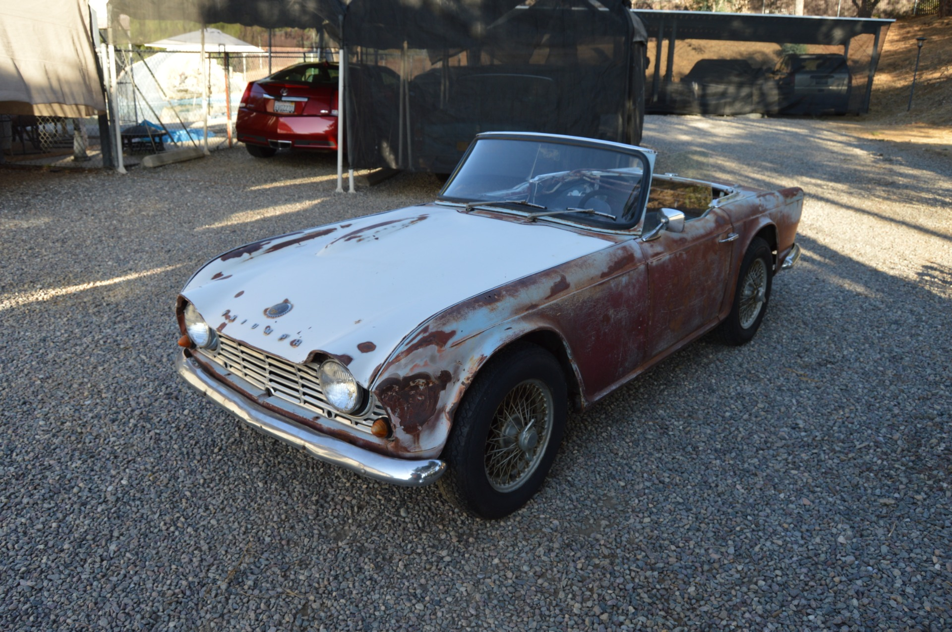 Used 1962 Triumph TR4 For Sale ($3,950) | Affordable
