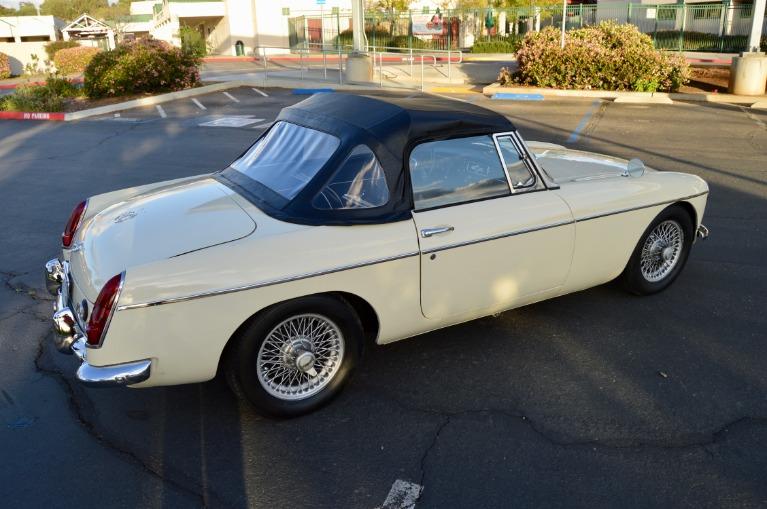 Used-1963-MG-B